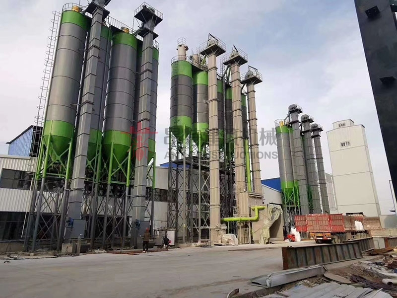 Completely Full Automatic Dry Mortar Mix Batching Plant Output Capacity 30-100t/h